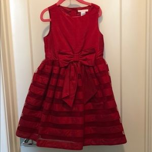 Janie and Jack girls Holiday dress.size 6